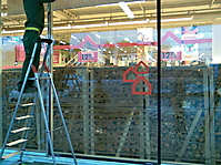Schaufensterverglasung